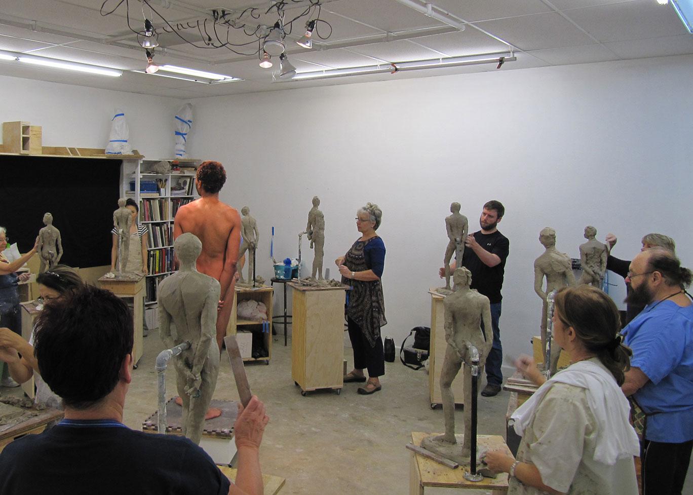 Figure Sculpting Class
