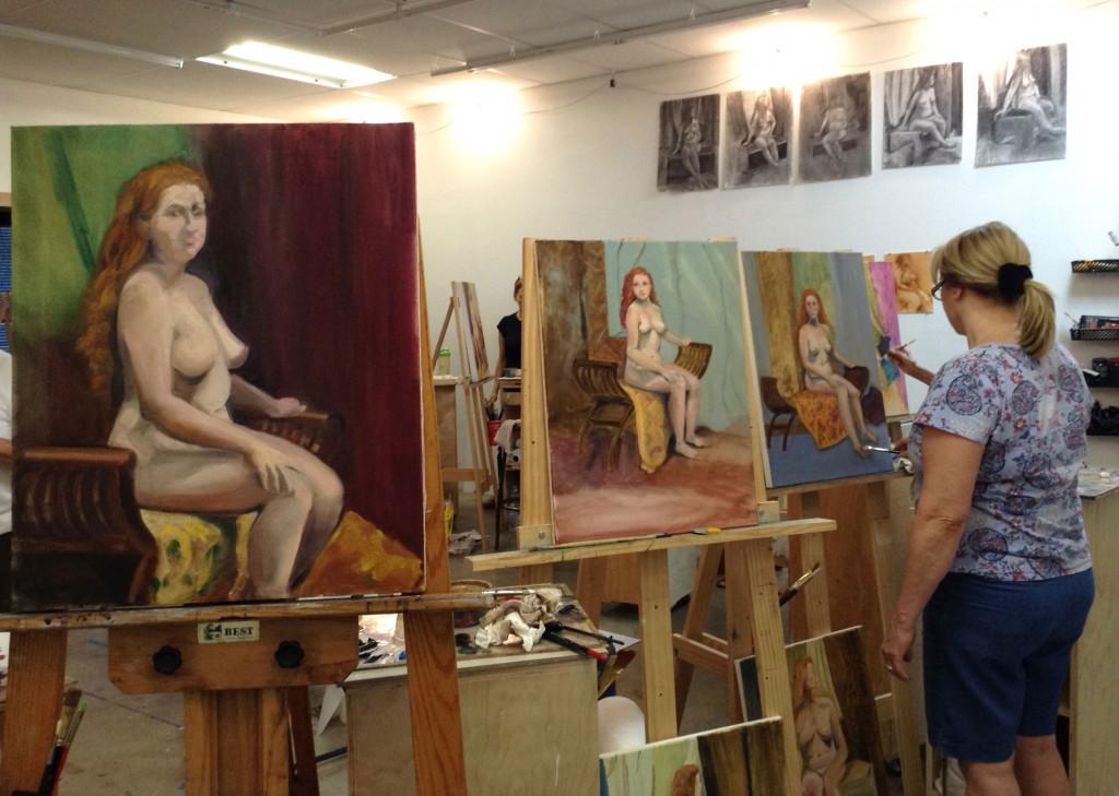 Figure Painting Class